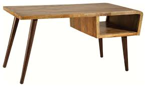 orbit hand painted mango wood desk rustic desks and hutches