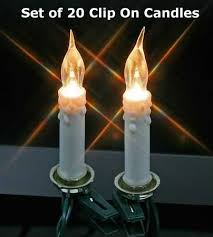 check out the deal on set of 20 electric clip on tree