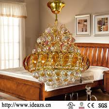 Dear Chandelier C98109 Crystal Chandeliers Gold Crystal Ceiling Lighting Replica