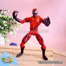Carnage Halloween Costume 2017 American Comic Hero Movie Figures Carnage Spider Man