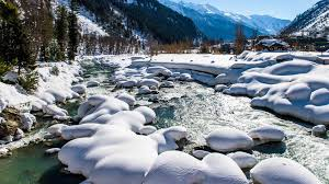 a picturesque winter in the kashmir valley india news photos