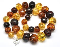 amber beads necklace images Massive raw baroque beads baltic amber necklace 171 88 fine JPG