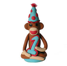 monkey cake topper flickriver photoset sock monkey birthday cake toppers by spiritmama