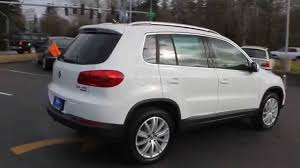 volkswagen suv 2015 2015 volkswagen tiguan pure white stock 110286 walk around