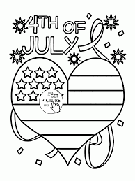 happy independence day coloring page for kids coloring pages