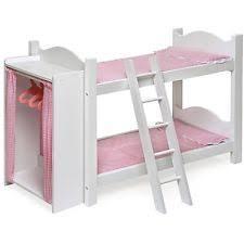 American Girl Bunk Bed EBay - Girls white bunk beds