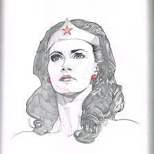 wonder woman linda carter sketch pad pencils by sammyg23 on deviantart
