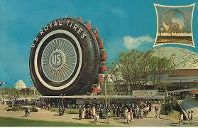 1964 World S Fair Map by Official Nyc World U0027s Fair Post Card 1964 Postcards