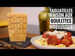 hervé cuisine butter chicken recette tagliatelles maison et boulettes moelleuses au grana padano