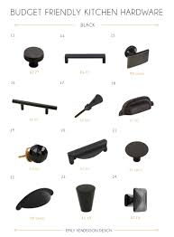 knobs and more home decor 48 budget friendly kitchen hardware knobs u0026 pulls emily henderson
