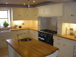 Kitchen Island Worktop by Kitchen Decoration Using Rectangular Wood Slab Kitchen Wooden