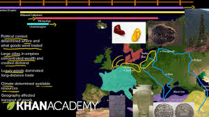 early medieval trade world history khan academy youtube