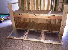 pallet bench with storage 101 pallets
