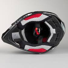 ufo motocross helmet ufo onyx nos helmet black white red quick dispatch 24mx
