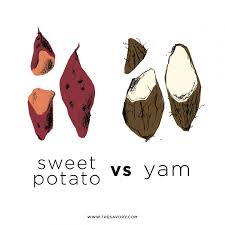 so what s the difference between sweet potatoes and yams obsev