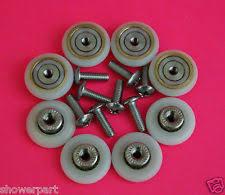 shower door rollers ebay