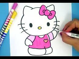 draw kitty easy
