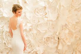 wedding backdrop of flowers on trend paper wall flowers wed on canvas live event and