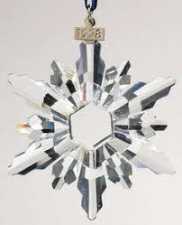 swarovski ornament snowflake 2009 mint