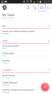 creating lists on android product guide asana