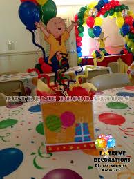 caillou party supplies caliou birthday party caillou kids birthday party centerpiece
