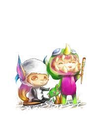 halloween animations clip arts happy halloween from dino teemo n u0027 panda gnar by jana healer on