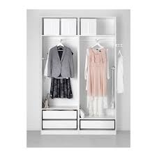 Wardrobe Interior Accessories Pax Wardrobe 150x44x201 Cm Soft Closing Device Ikea