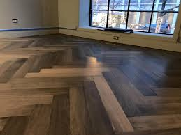 Laminate Flooring Chicago Herringbone French Oak Hardwood Floor Installation In Chicago