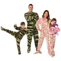 camouflage footed pajamas for the family family choice awards