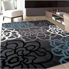 Modern Design Rugs Modern Office Rugs Contemporary Office Area Rug W Floral Design