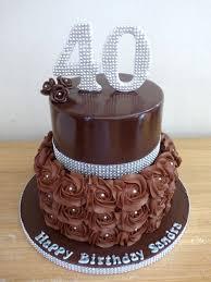 chocolate and bling 2 tier birthday cake susie u0027s cakes