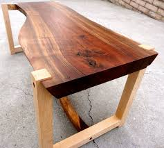 wood slab table legs all wood walnut slab table with hard maple legs walnut slab legs