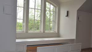 bench bay window bench in kitchen amazing built in window bench