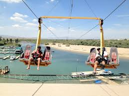 Arizona travel pirates images Motorized zip line at gozip pirate cove in arizona on the jpg