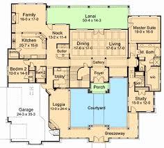 courtyard house floor plans courtyard home plans beautiful luxury house plans glamorous ideas f