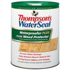 clear l base to fill thompson s waterseal 5 gal waterproofer plus clear wood protector