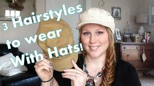 baseball hair styles mommy monday tutorial 3 hair styles i wear with hats youtube