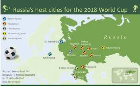 russia football map 2018 fifa world cup russia draw resetera