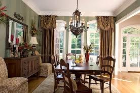 formal diningm curtains sheer grommet curtain panels brown varnish