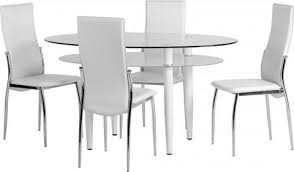 White Glass Kitchen Table by Glass Dining Sets U2013 Modernique