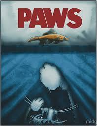 Jaws Meme - paws jaws poster parodies know your meme