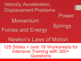 complete motion worksheet distance velocity acceleration