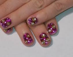 rhinestones galour nail art tutorial youtube