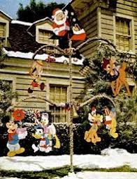 outdoor disney decorations lights card and