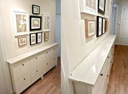 hallway wall storage unit these slim storage cabinets hold shoes