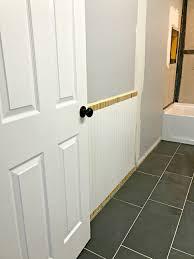 bathroom installing beadboard exterior beadboard floor to