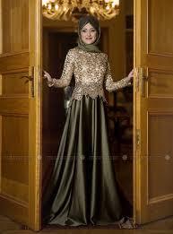 gaun muslim 10 contoh model baju muslim untuk pesta terbaru 2018