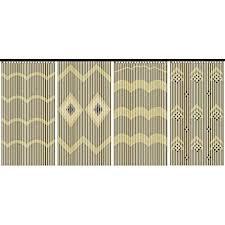 Diy Beaded Door Curtains Beautiful Wooden U0026 Bamboo Beaded Door Curtain Brand New Amazon Co
