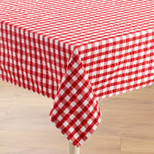 table cloth gingham seersucker tablecloth