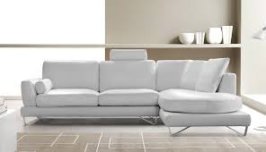 Modern White Sectional Sofa by White Sectional Leather Sofa Modern And Contemporary Modern White